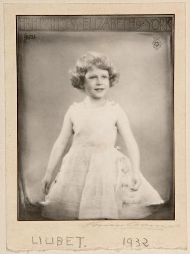Marcus Adams (1875-1959) - HM Queen Elizabeth II (b 1926) when