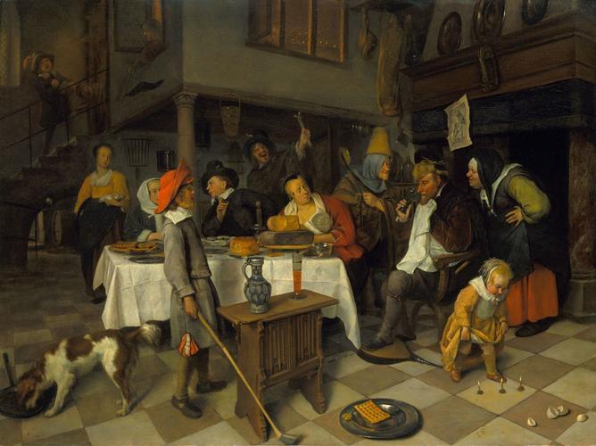 A Twelfth Night Feast: 'The King drinks'
