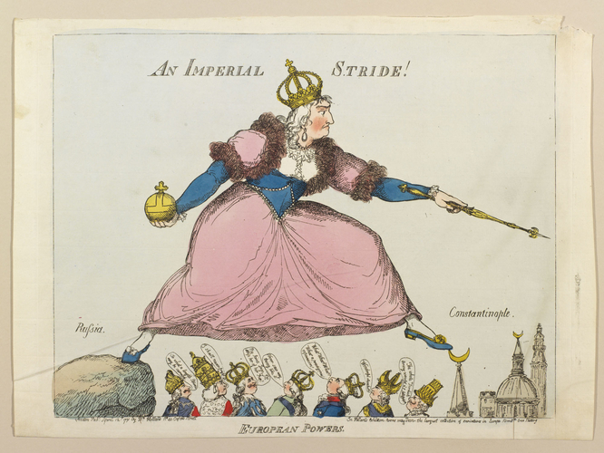 European Powers. An Imperial Stride