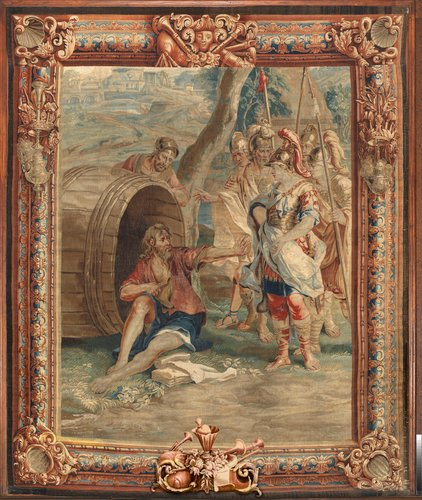 Master: The History of Alexander Item: Alexander's visit to Diogenes in his tub
