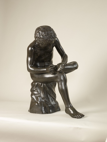 Master: Boy with a thorn in his foot, 'Spinario' Item: Spinario