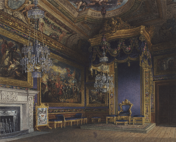 Windsor Castle: The King?s Audience Chamber