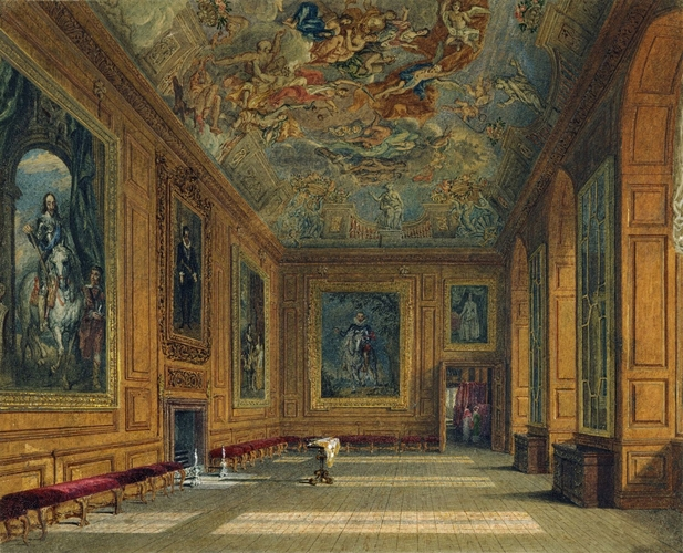 Windsor Castle: The Queen?s Presence Chamber