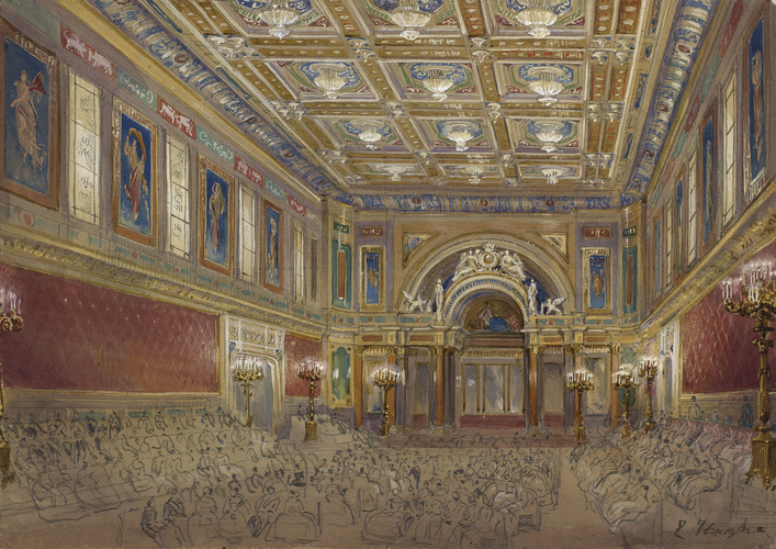 The inaugural concert in the Ballroom at Buckingham Palace
