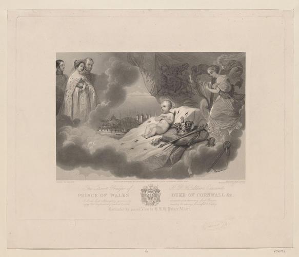 Henry Thomas Ryall (1811-67) - The First Prayer of H R H Albert