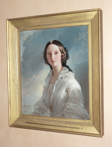 Princess Feodora of Hohenlohe-Langenburg (1839-1872)