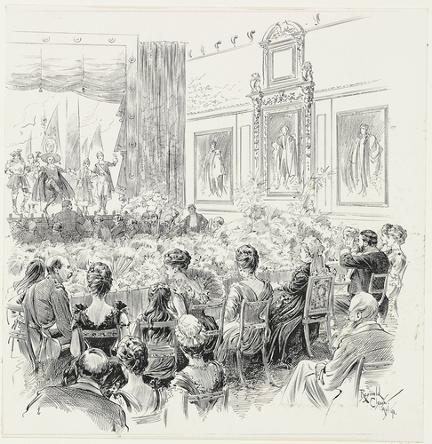 Performance of The Gondoliers at Windsor Castle, 6 March 1891