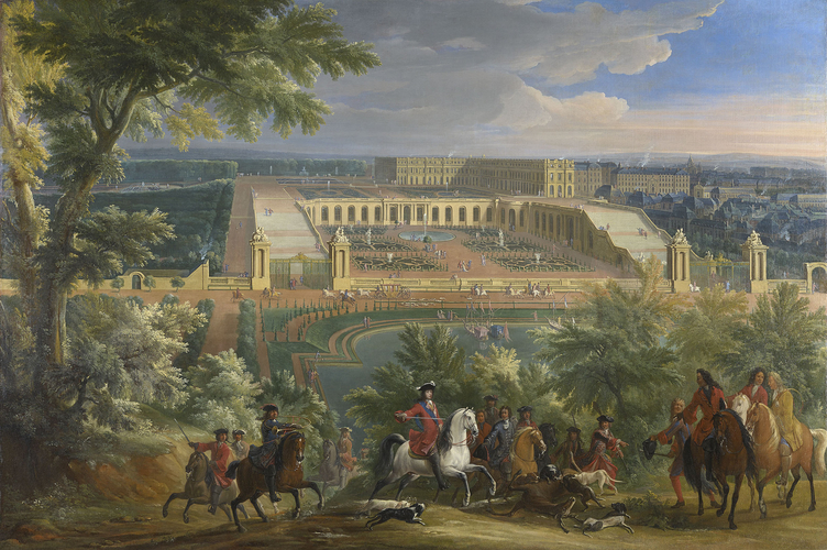 A Stag Hunt at Versailles