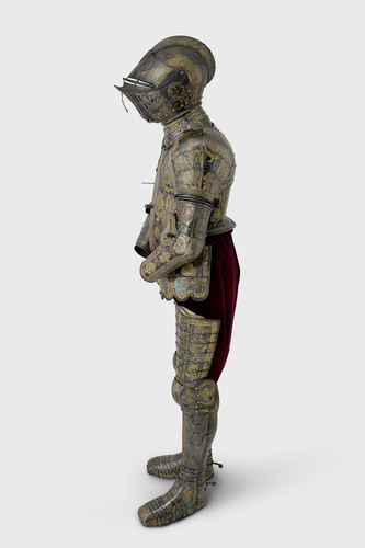 Armour of Henry, Prince of Wales for the field, tourney, tilt and barriers