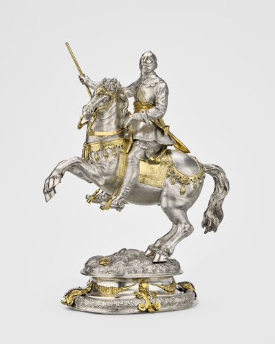 Equestrian statuette of Gustavus II Adolphus of Sweden