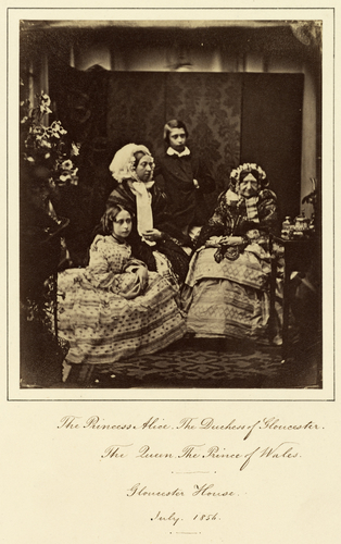 Group portrait at Gloucester House