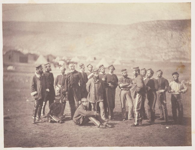 Col Doherty, Officers and men - 13th