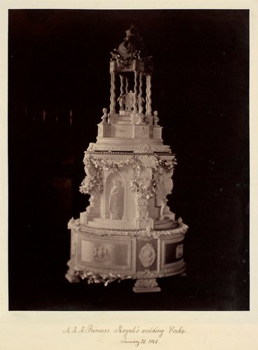 Victoria, the Princess Royal's wedding cake