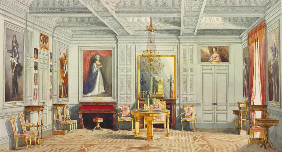 Adrien Dauzats 1804 68 Royal Visit To Louis Philippe
