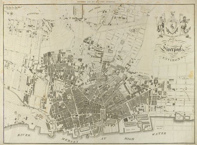 A Plan of Liverpool with the Environs