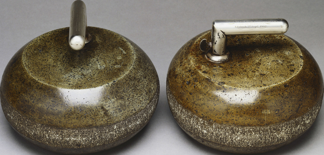 Master: Pair of curling stones