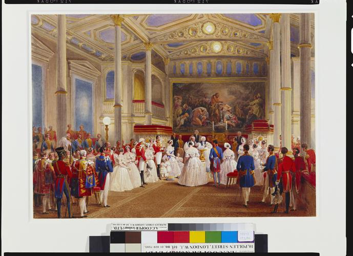 The Christening of Princess Helena, 25 July 1846