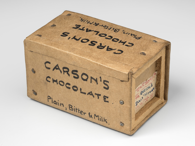 Crate of chocolate