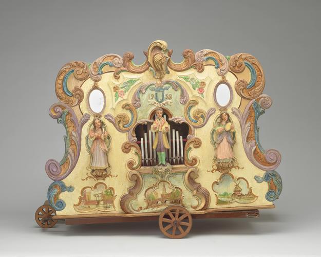 Model barrel organ
