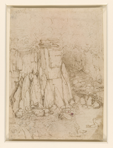 A rocky ravine