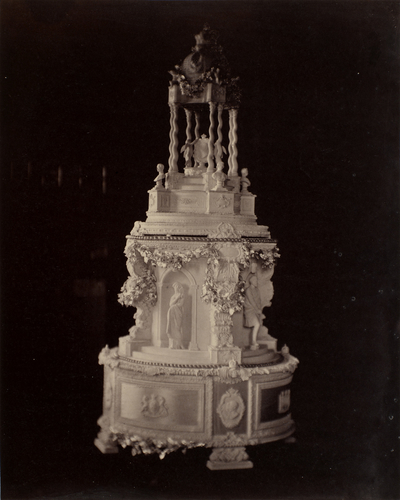 HRH Princess Royal's wedding cake, 28 January 1858
