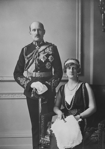 Prince Arthur of Connaught and his wife Alexandra, Duchess of Fife