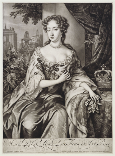 Maria D. G. Mag. Brit. Fran. et Hyb. Reg