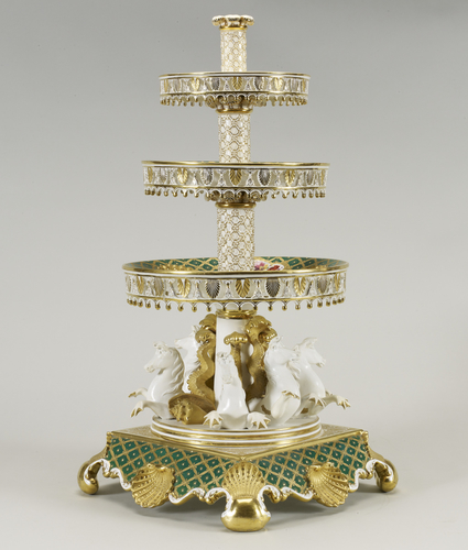 Centrepiece (from the Coronation dessert service)