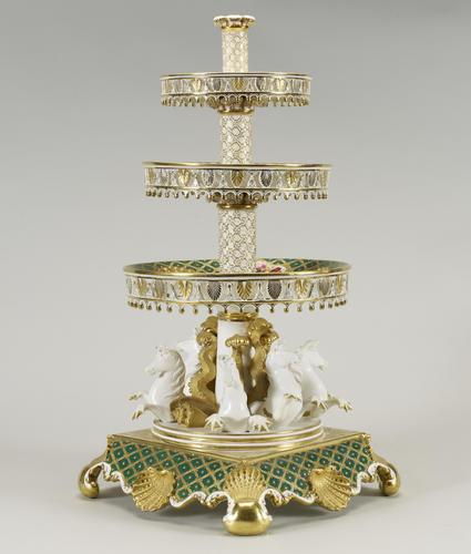 Centrepiece (from the Coronation dessert service)