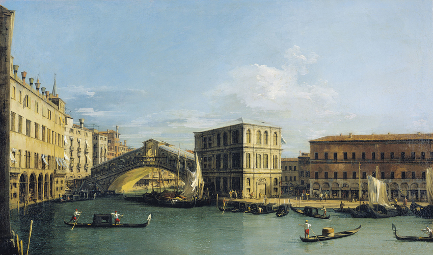 The Rialto Bridge from the North