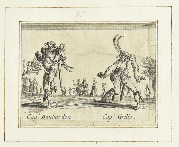 Master: Balli di Sfessania Item: Capitano Bonbardon and Capitano Grillo