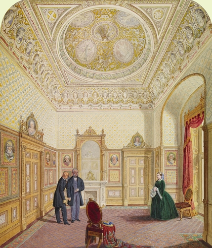 Windsor Castle: design for the Queen?s Audience Room