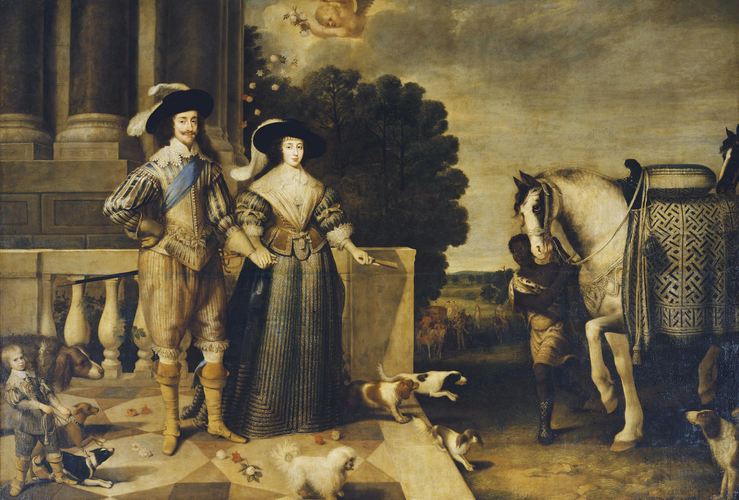 an evaluation of the allegory of charles i of england and henrietta of france