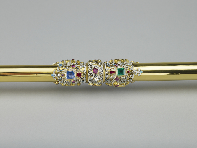 The Sovereign's Sceptre with Dove