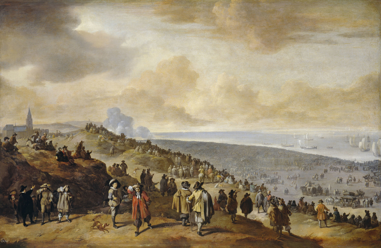 The Embarkation of Charles II at Scheveningen
