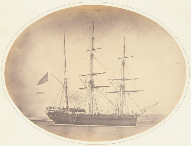 The Arctic ship, 'Resolute'
