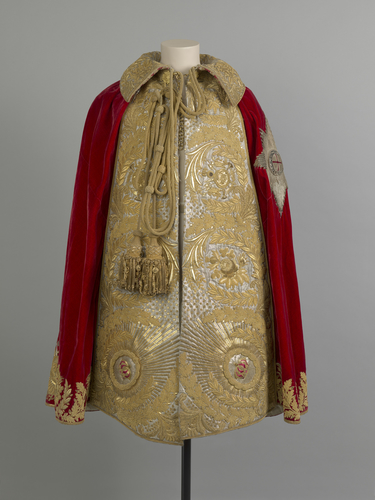 Coronation robe of George IV