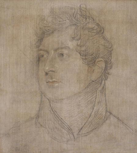 Head of George IV