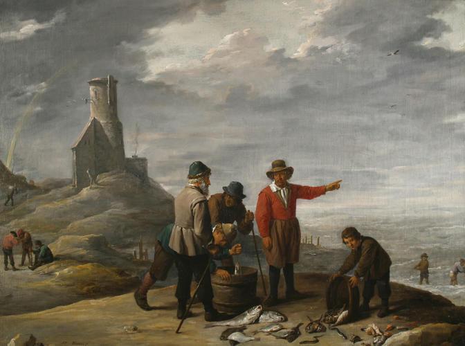 Fishermen on the Sea-shore