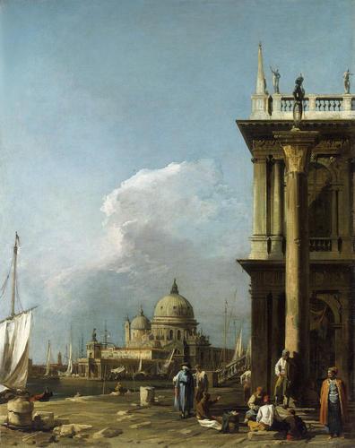 The Piazzetta looking towards Santa Maria della Salute