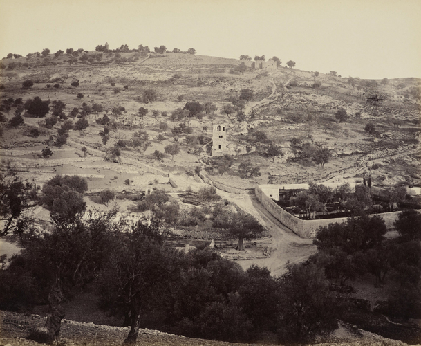 The Mount of Olives and Garden of Gethsemane [Jerusalem]