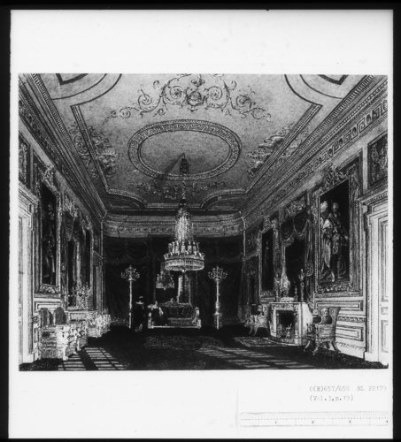 The Ante Chamber to the Throne Room, Carlton House