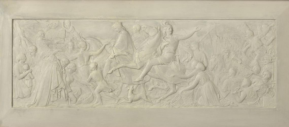 Richard II and Bolingbroke entering London