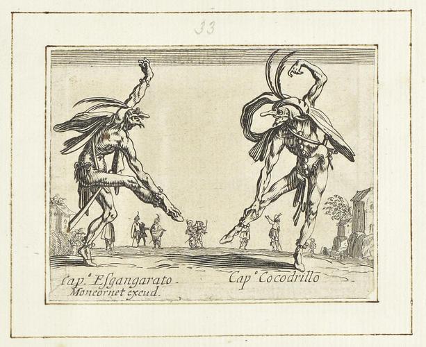 Master: Balli di Sfessania Item: Capitano Esgangarato and Capitano Cocodrillo