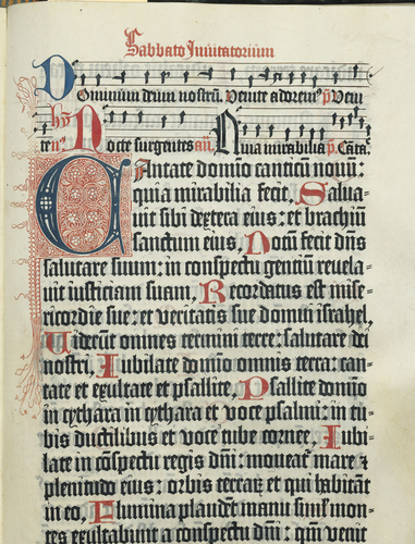 The Mainz Psalter