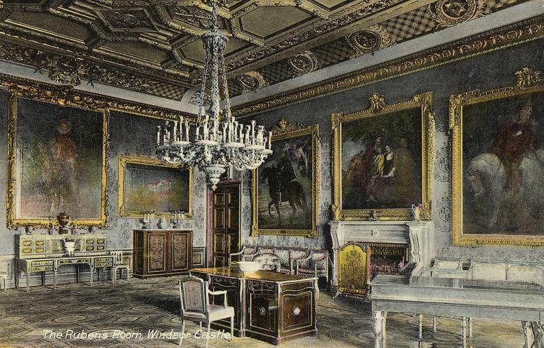 The Rubens Room, Windsor Castle