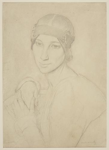 Portrait of Miss Winifred Knights