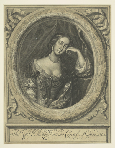 Barbara Countess of Castlemaine (1641-1709)