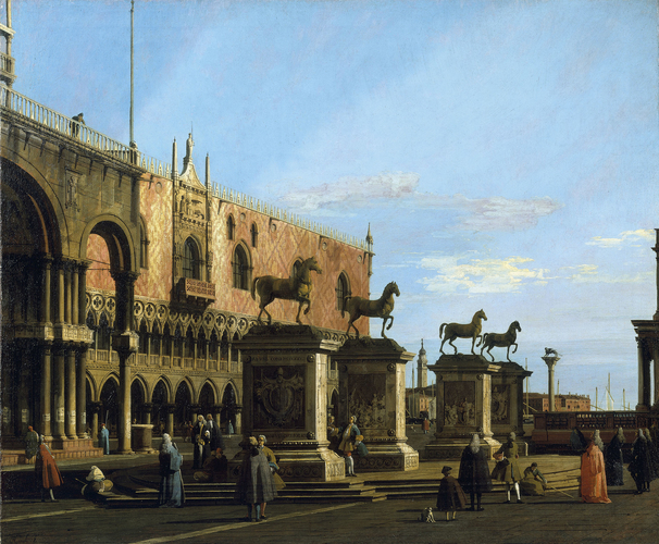 Capriccio View of the Piazzetta with the Horses of San Marco