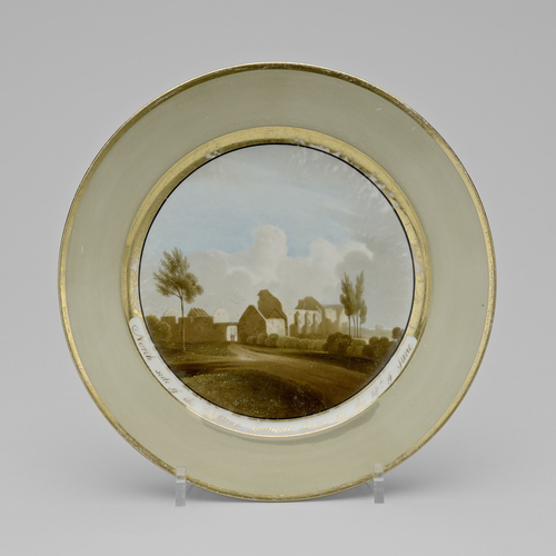 Master: Battle of Waterloo commemorative plates Item: Battle of Waterloo commemorative plate